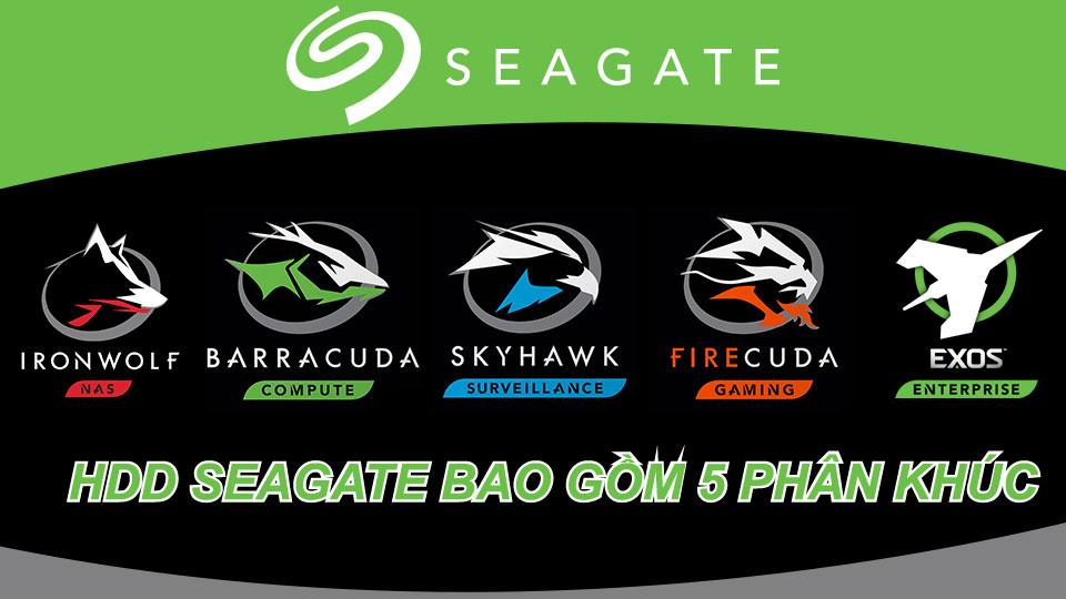 Phan Loai HDD Seagate 5 Loai BarraCuda FireCuda IronWolf Skyhawk va