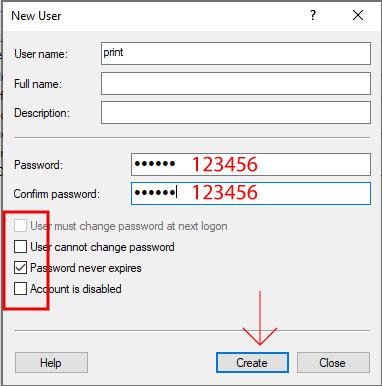 Tao User Trong Windows 10 De Chia Se May In 2