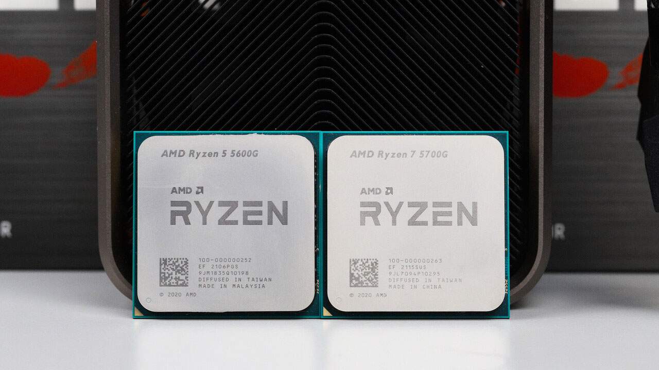 AMD Ryzen 5600G va 5700G