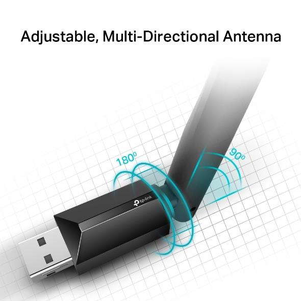 USB Wifi Chuan AC TPlink Archer T2UPlus AC600 Bang Tan Kep 3