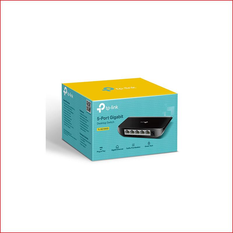 Switch TP link TL SG1005D 5 port gigabit 1