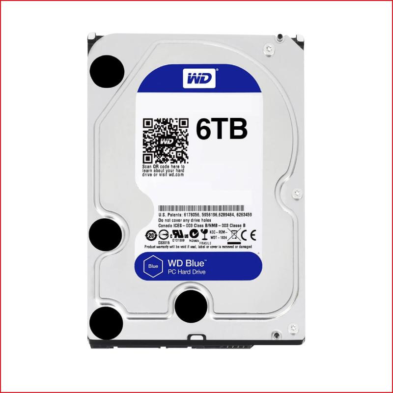 O Cung HDD Western Digital Blue 6TB 3.5 inch5400 RPM256MB Cache