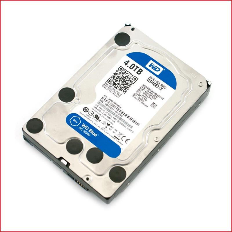 O cung HDD Western Digital Blue 4TB 3.5 inch