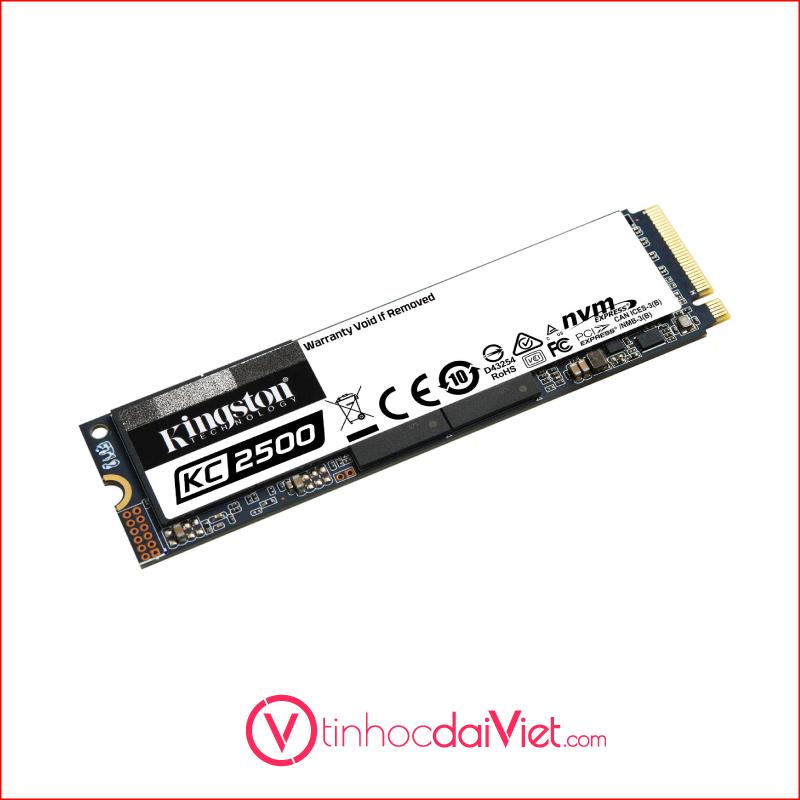 SSD Kingston KC2500 NVMe PCLe Gen 3 x 4 M.23D NAND2200MBS 1