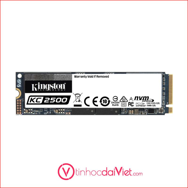 SSD Kingston KC2500 NVMe PCLe Gen 3 x 4 M.23D NAND2200MBS