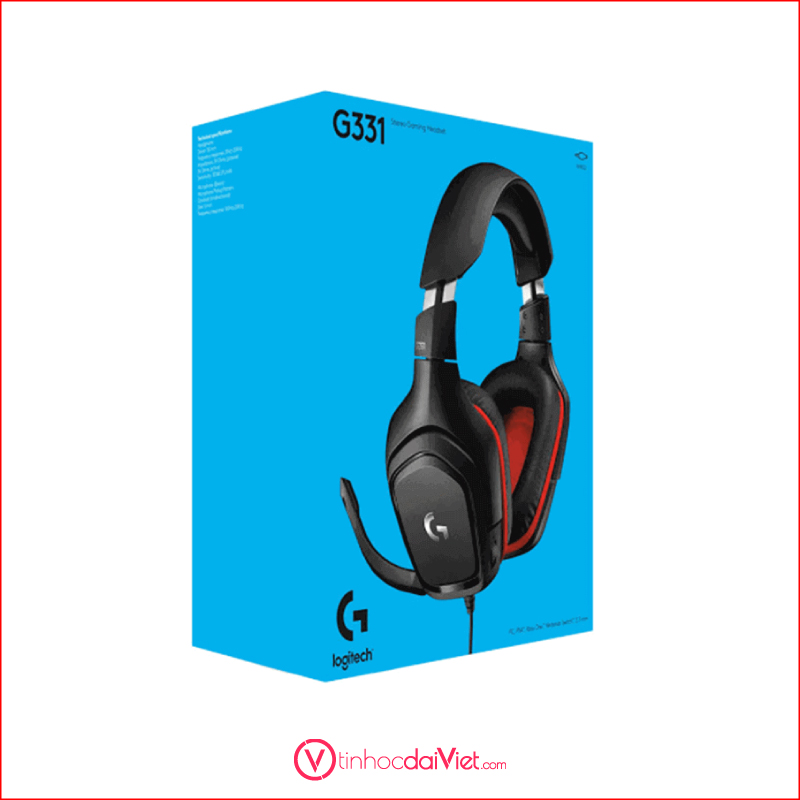 Tai Nghe Gaming Logitech G331 Jack 3.5mmAm Thanh Vom 7.1 5